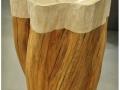 macaire-tailleur-de-pierre-Vasque-tronc-bois-pierre-calcaire-figuera1